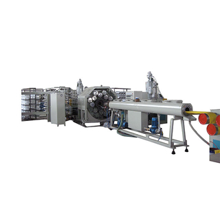 PVC lay flat hose extrusion machine