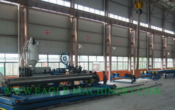 HDPE/PP Profiles pipe winding production lines